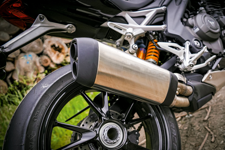 Triumph Speed Triple RS Endtopf